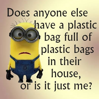 PLASTIC BAGS!!!