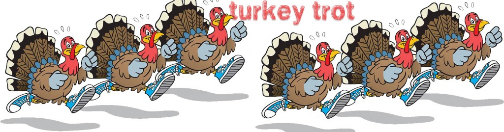 START YOUR THANKSGIVING DAY<br>WITH THE BATH AREA TURKEY TROT!