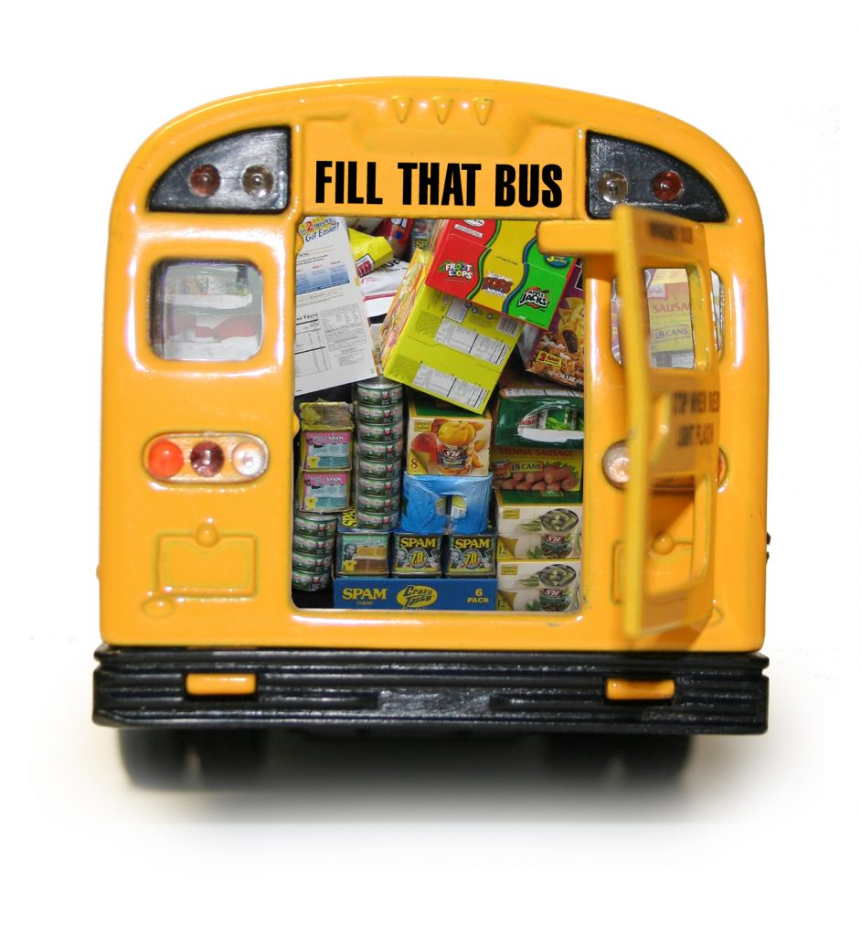 Annual 'fill a bus' 18th and 19th