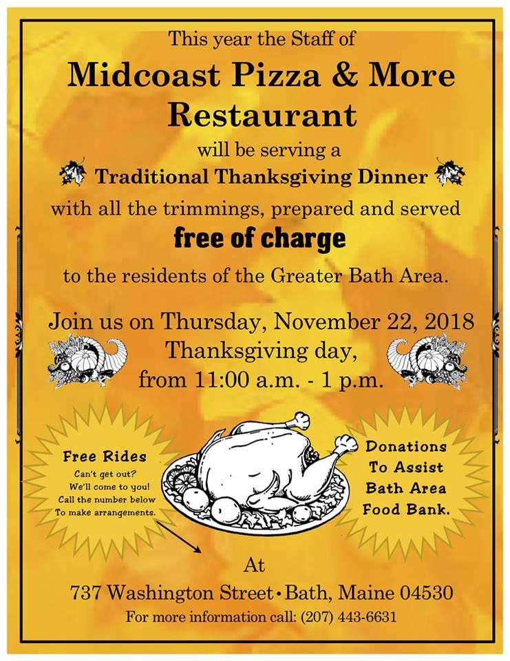 Free Thanksgiving meal!